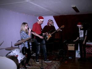 новогоднй концерт, новый год, фото отчет, Школа рока